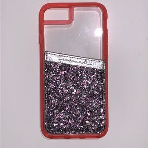 LAUT iPhone 6/7 case with Casemate Card Holder